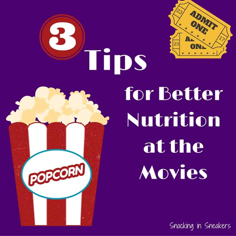 Wondering if that popcorn will break the calorie bank? Find out in this blog post about movie theater nutrition!