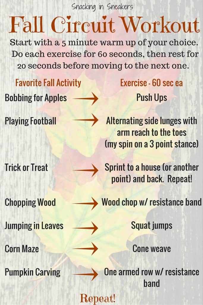Fall Circuit Workout!