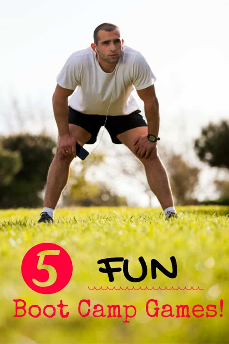 Want to add some fun activities to your next boot camp or group fitness class? {Or just looking for a fun fitness activity for friends?} These 5 boot camp games are a blast!