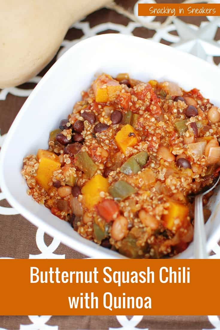 YES! A new way to use butternut squash this season - in chili! This is hearty, filling and tasty comfort food. {Also vegan, gluten free, and dairy free}