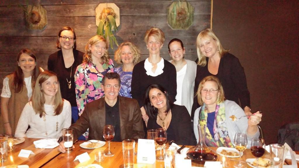 California Walnuts Dinner with Dr David Katz