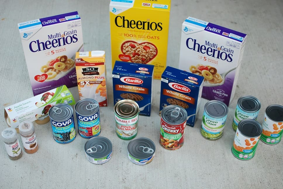 Healthy Food Pantry Donations