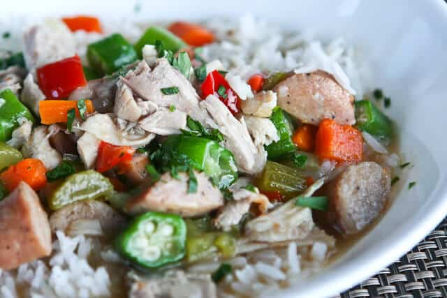 Leftover Turkey Gumbo