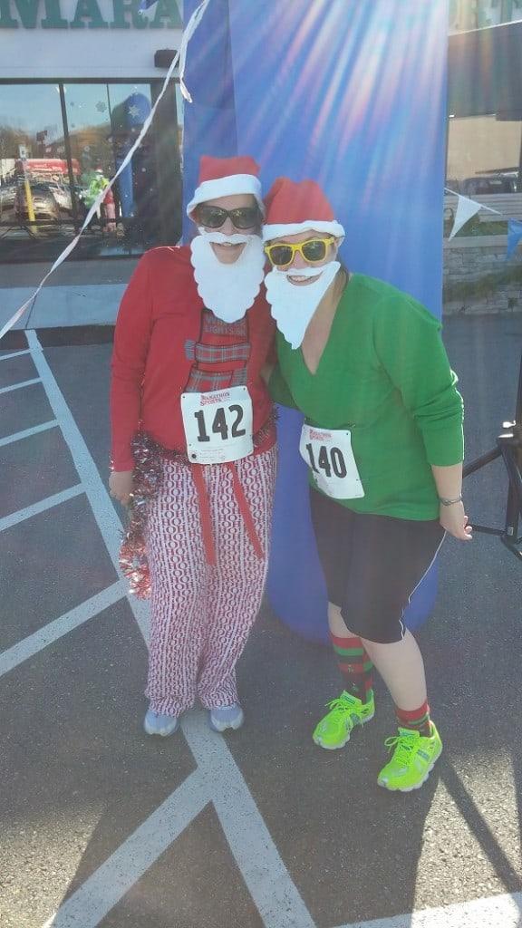 Santa Shuffle 5K Race Recap