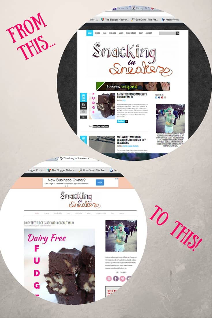 Amazing (and inexpensive) blog makeover from ALB Designs!