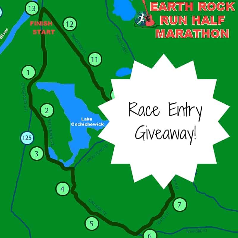 Earth Rock Run Half Marathon Race Entry Giveaway!