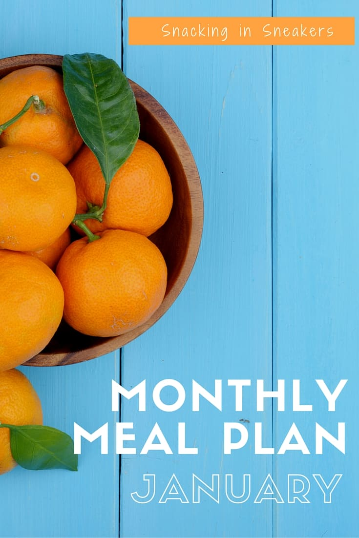 An entire monthly meal plan with dinner ideas. I love this for planning meals to eat better & save money!