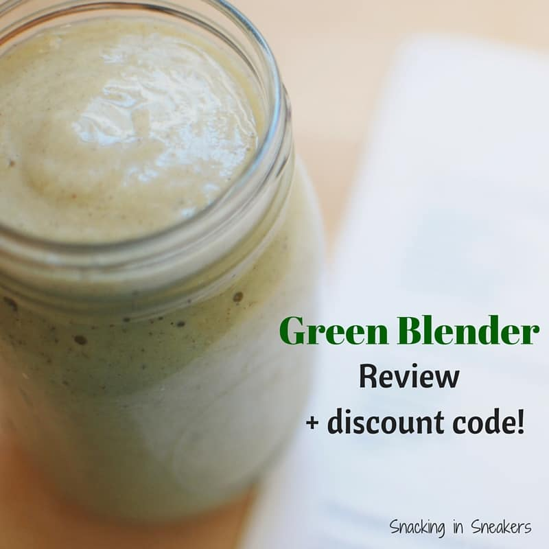 Green Blender Review + Promo Code!