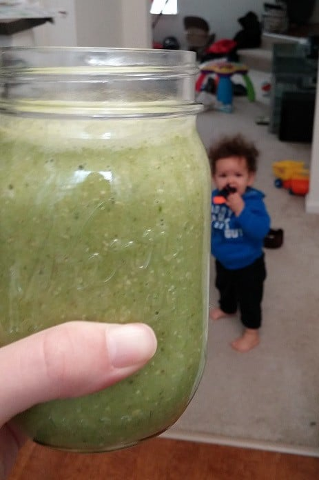 Green Blender Smoothie
