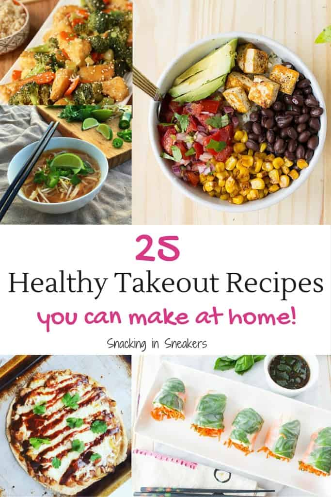 25 Healthy Takeout Recipes to Cook at Home!
