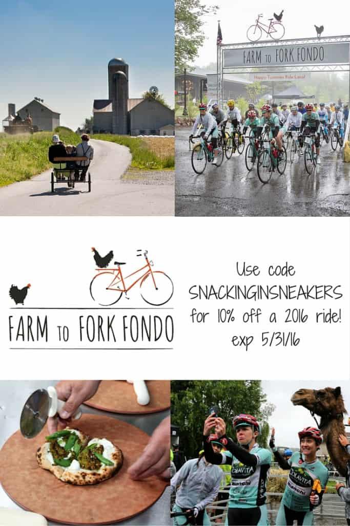 Farm to Fork Fondo + Promo Code!