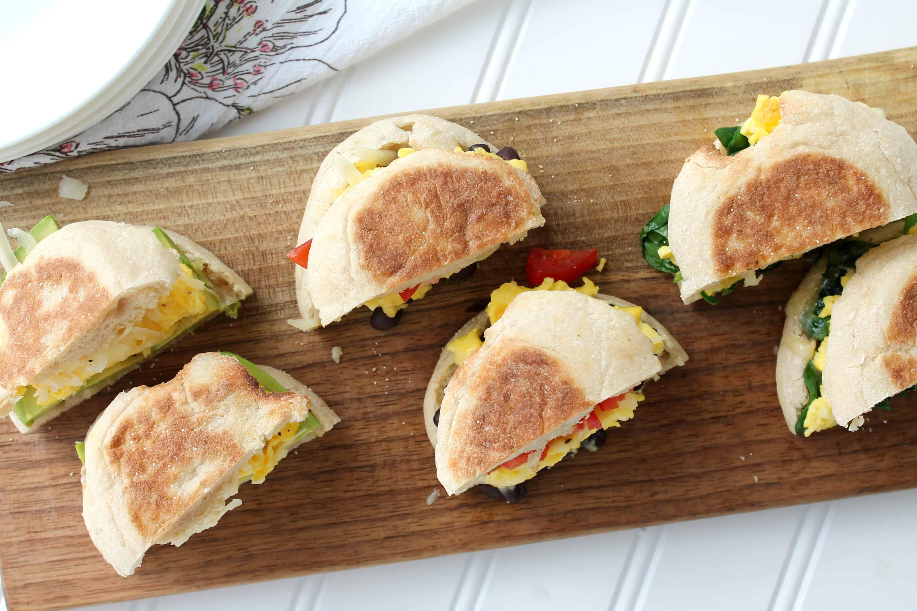 Breakfast sandwich bar