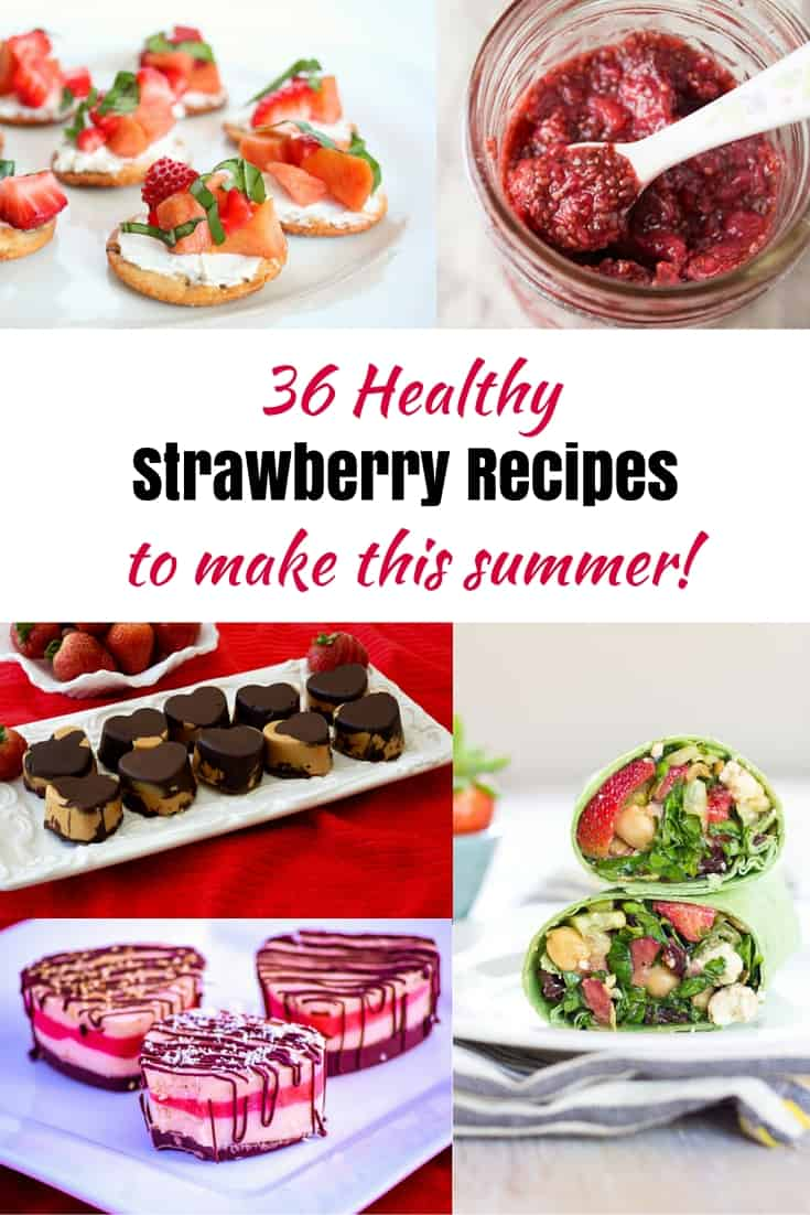 35+ Juicy Strawberry Recipes to Make All Summer Long. There's nothing like a summer dessert featuring fresh, juicy strawberries.