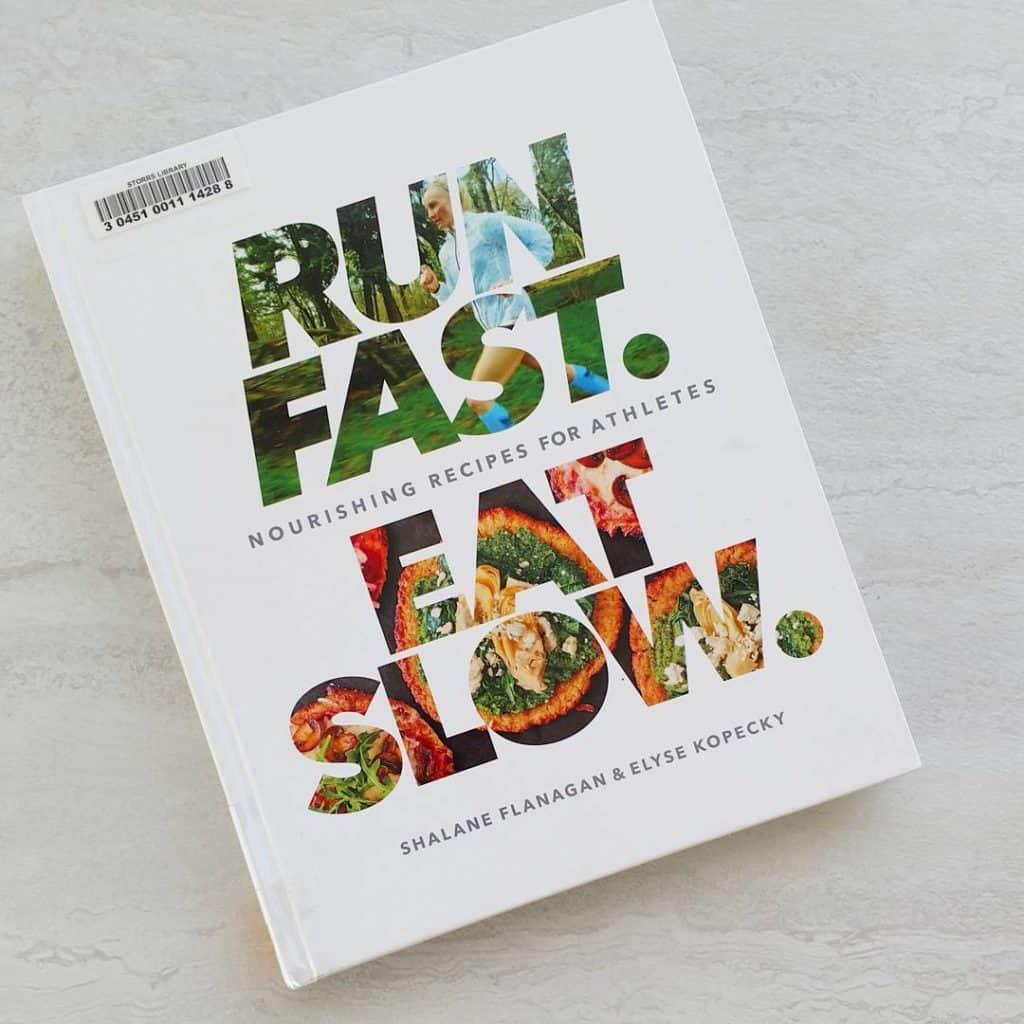 Finally got my copy of Run Fast Eat Slow fromhellip