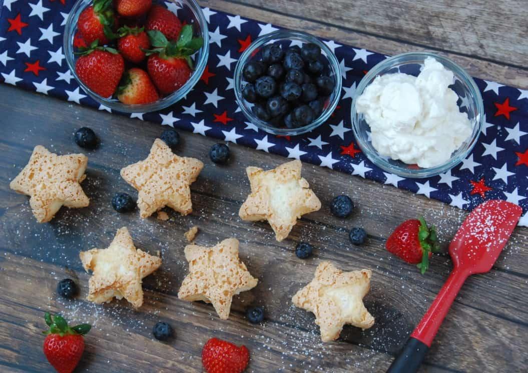 Angel food stars