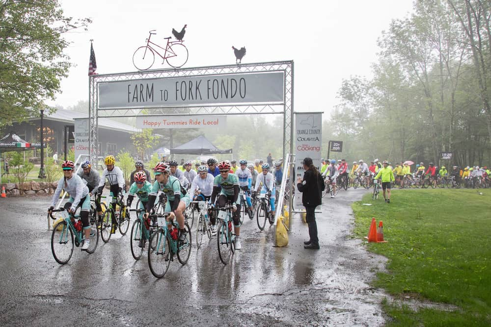 Farm to Fork Fondo Training Update!