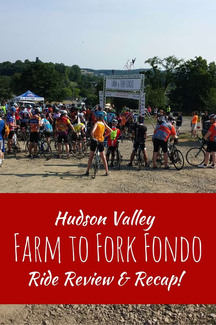 Thinking about participating in a Farm to Fork Fondo cycling event? Check out my review of the Hudson Valley ride here!