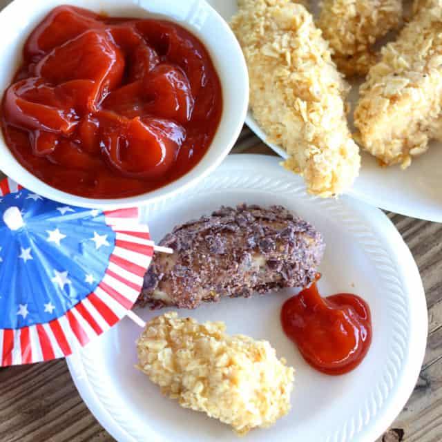 Patriotic Chicken Fingers