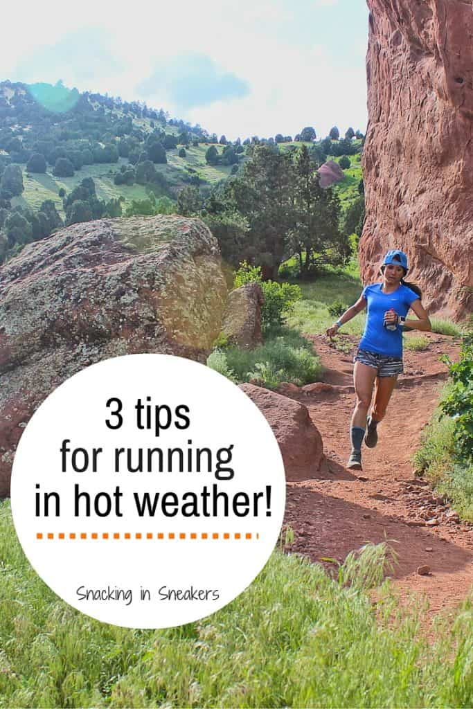Training for an race this summer? Running in hot weather can be a challenge, but these three tips will help you conquer the heat!