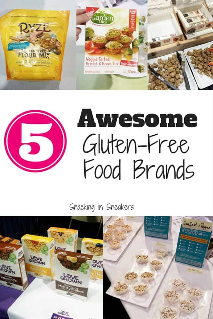 These are 5 new & innovative gluten free food brands that make foods perfect for people with celiac disease or certain food allergies!
