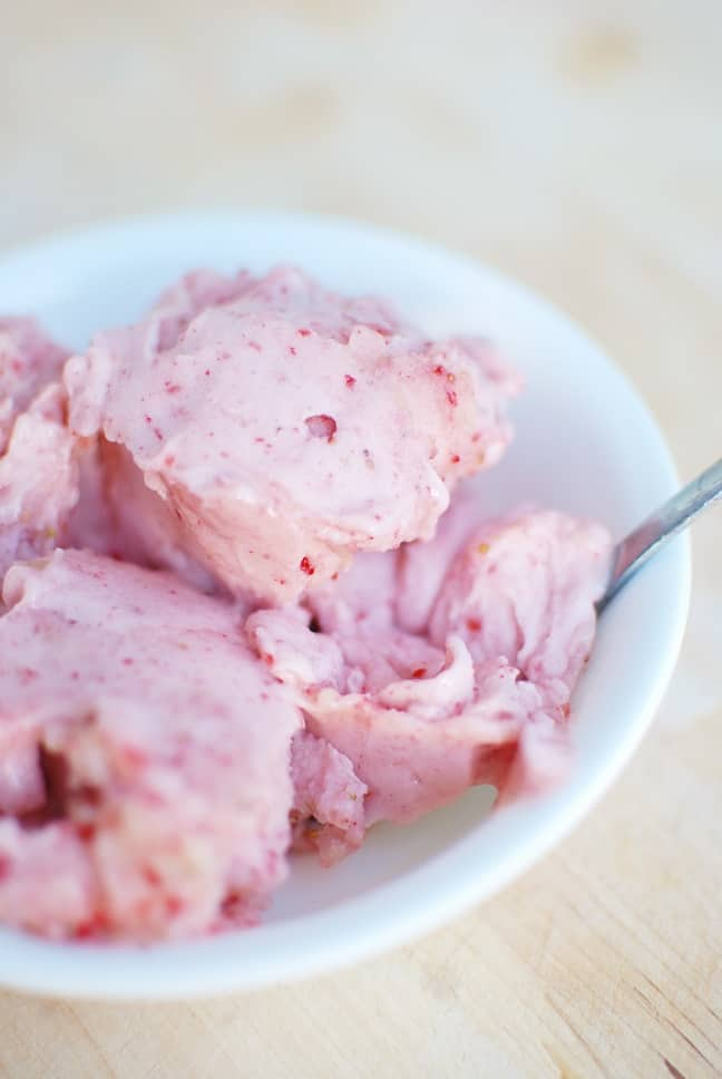 Strawberry Banana Ice Cream Recipe