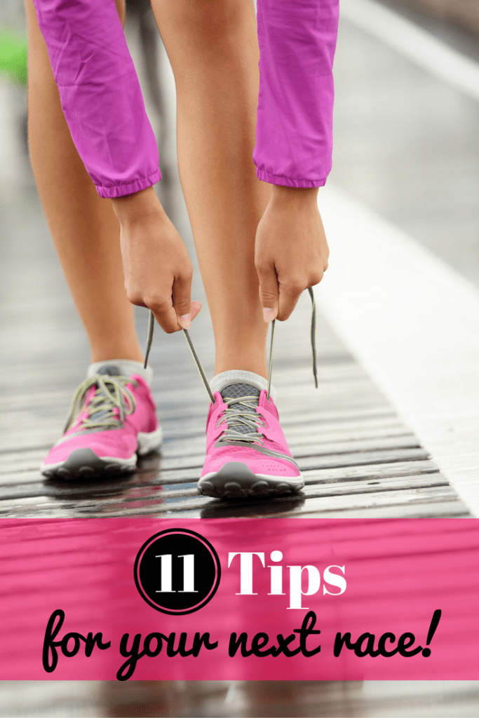 This post has 11 great tips for those of you training for a road race or triathlon – think eating a healthy breakfast, sleep tips, carb loading & more! Runners, be sure to read!