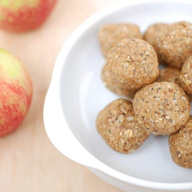 Need a healthy satisfying snack? These no bake apple peanuthellip
