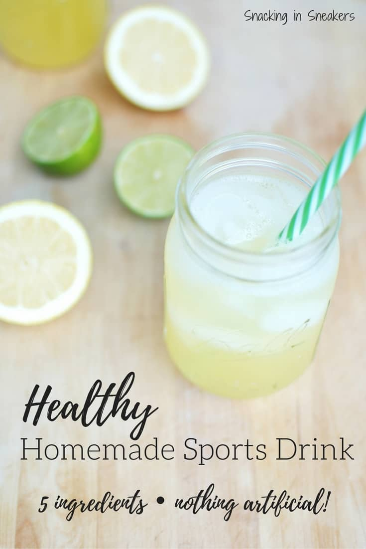 Healthy Homemade Christmas Gifts: Healthy Homemade Sports Drink