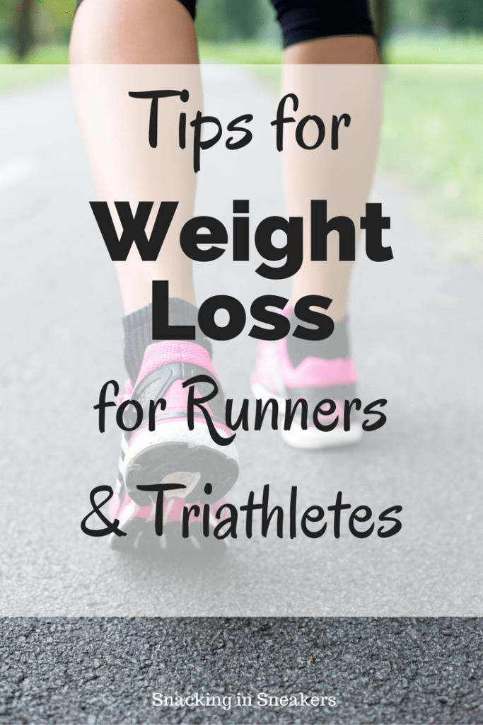 How to lose weight effectively while training for road races & triathlons