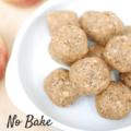 No bake apple peanut butter oatmeal balls