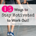 Struggling to get to the gym or take a run? These 15 tips for staying motivated to workout will help! From fitness buddies to new workout music to wagering some dough, these tips will have you sticking to your fitness goals.