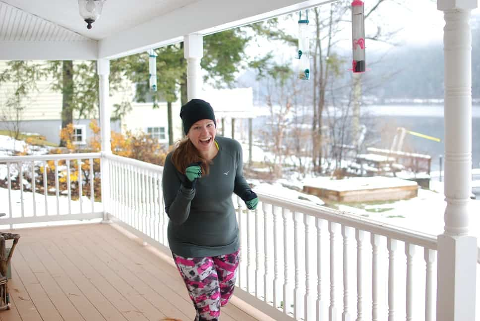 These 5 pieces of winter running gear will help you to pound the pavement all winter long! Great tips for runners and triathletes who want to do more outdoor workouts during the cold weather.