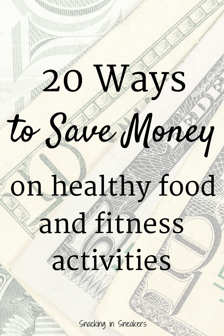Here are 20 great tips for how to save money on food and fitness activities! From meal planning to online specialty orders to fitness reimbursements from health care, you'll find great advice here.