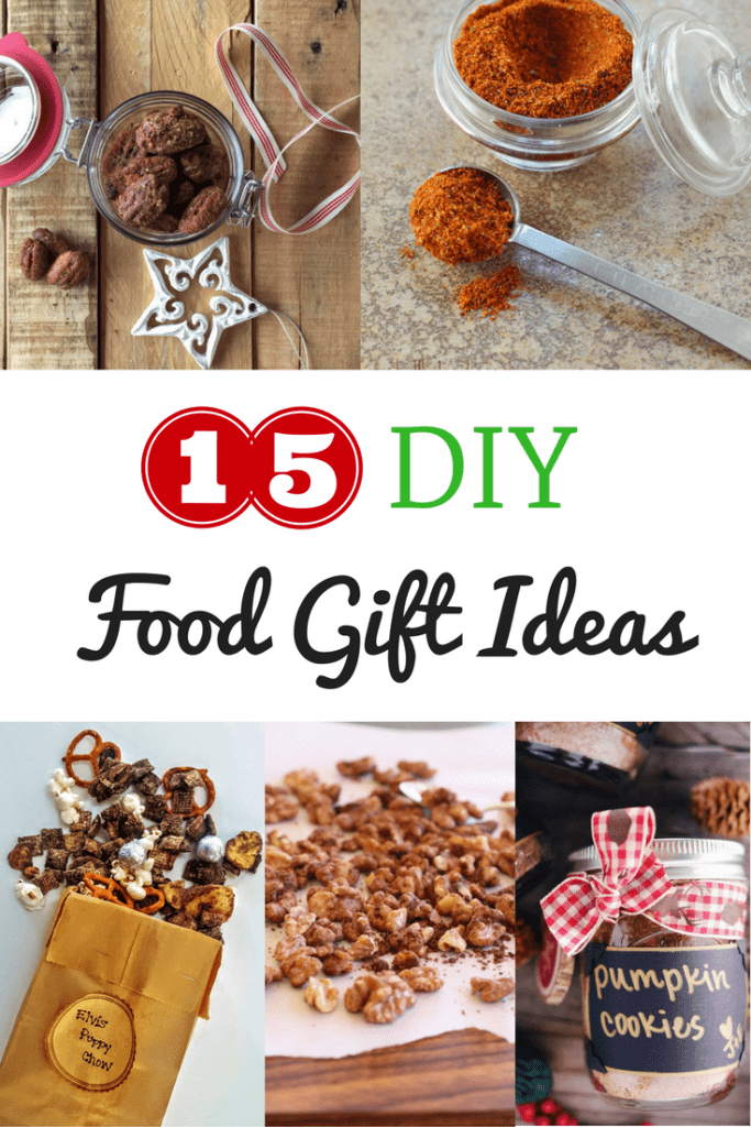 15 Last Minute DIY Holiday Food Gifts