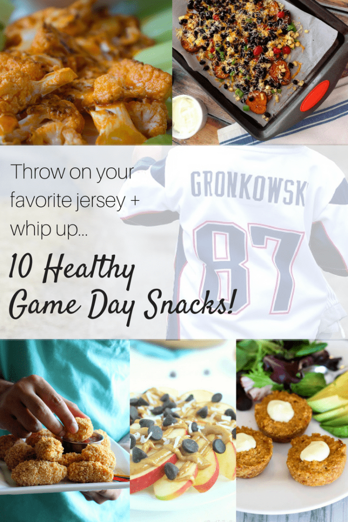 Looking for some healthy game day snacks for the football lovers in your life? From buffalo cauliflower to sweet potato nachos, these better-for-you choices are packed with flavor and nutrition.