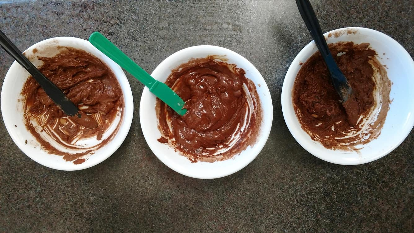 Testing brownie batter recipes