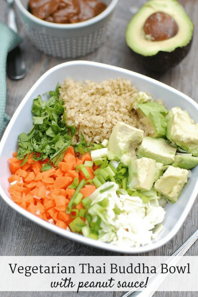 Thai Buddha Bowl {Vegan and Gluten Free Options!}