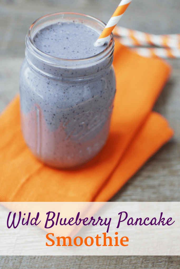 Wild Blueberry Pancake Smoothie