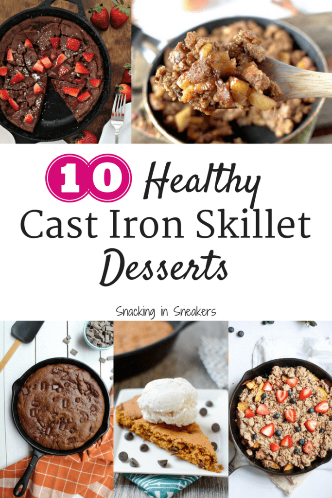 10 Cast Iron Skillet Desserts That Are Actually Pretty Healthy