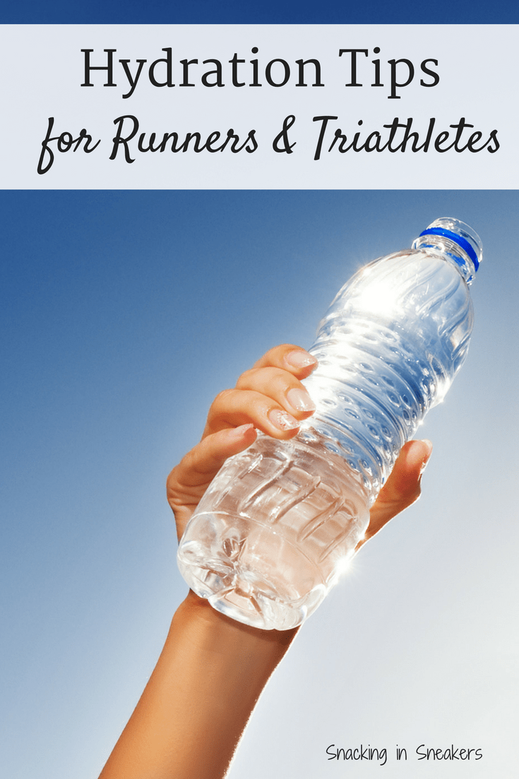 Training for a road race or triathlon? Don't forget to pay attention to hydration during exercise. Find out key tips for runners and triathletes when it comes to what to drink and how much to drink each day. |running tips | triathlon training | sports nutrition