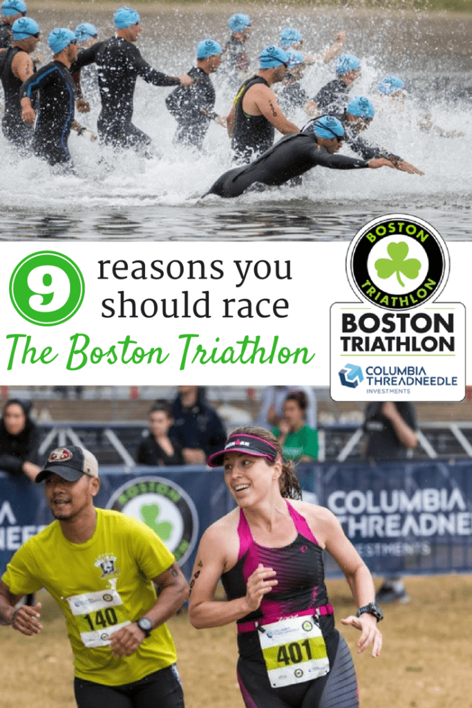 9 Reasons to Race the Columbia Threadneedle Investments Boston Triathlon! {Sprint and Olympic Distances!}