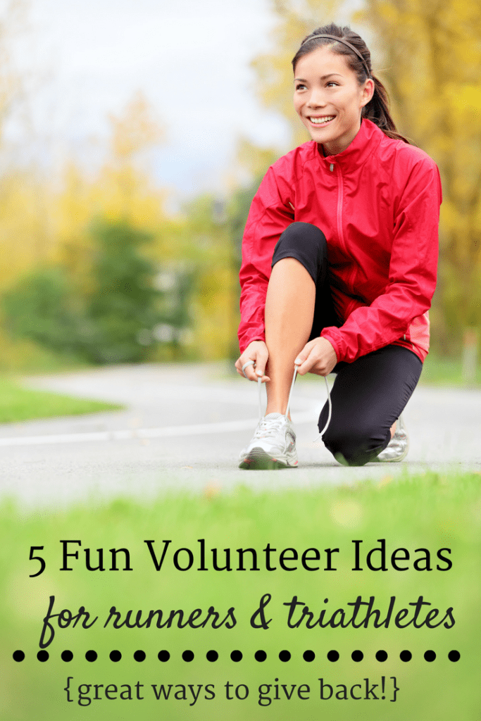 5 Volunteer Activities for Runners and Triathletes to Give Back