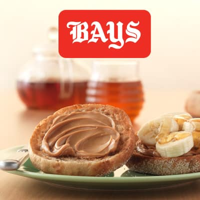 Peanut butter and banana on an English Muffin makes a great pre run breakfast!
