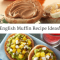 These English muffin recipe ideas are great breakfasts or snacks before a long run or ride!   English Muffin Breakfast   Healthy English Muffin Recipes   English Muffin Toppings   Breakfast for Runners   Healthy Breakfast Ideas