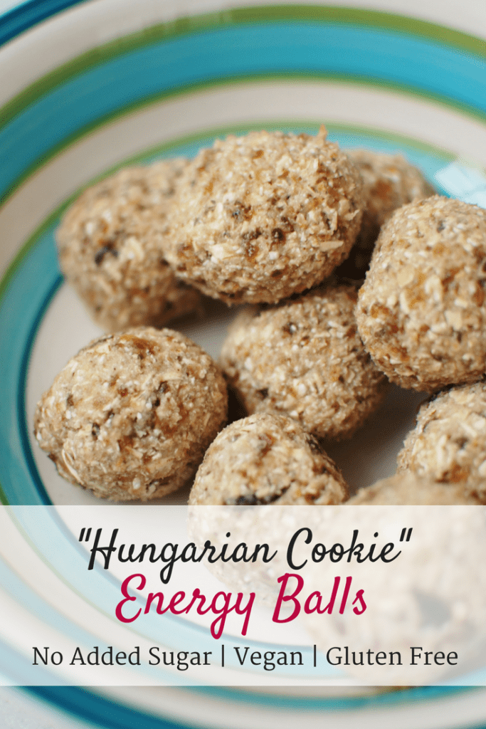 Hungarian Cookie Energy Balls
