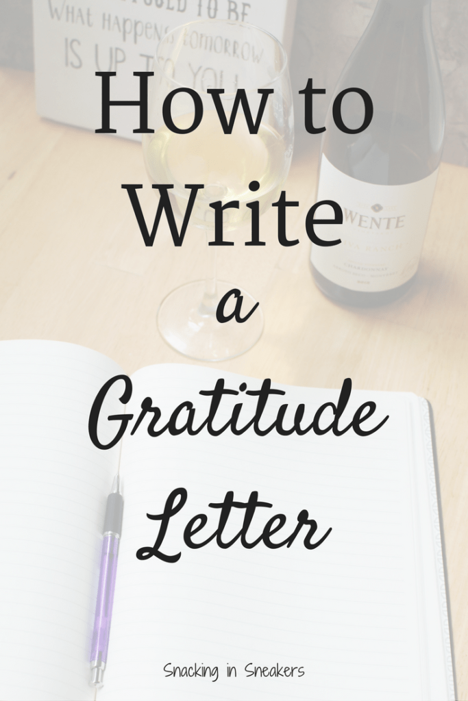 Writing a Gratitude Letter + Raising a Glass to Those Who Inspire Us