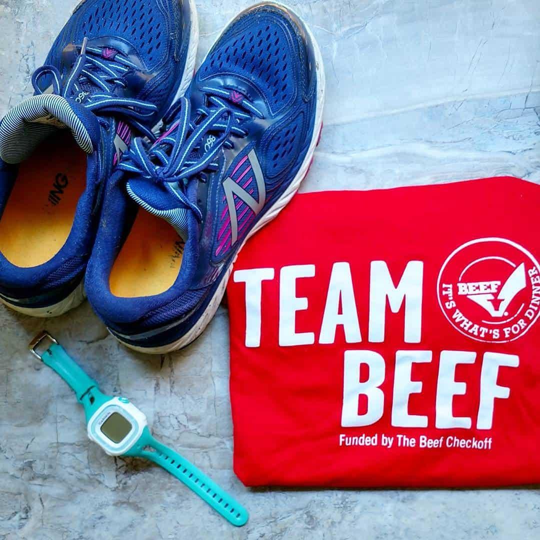 Running Team Beef