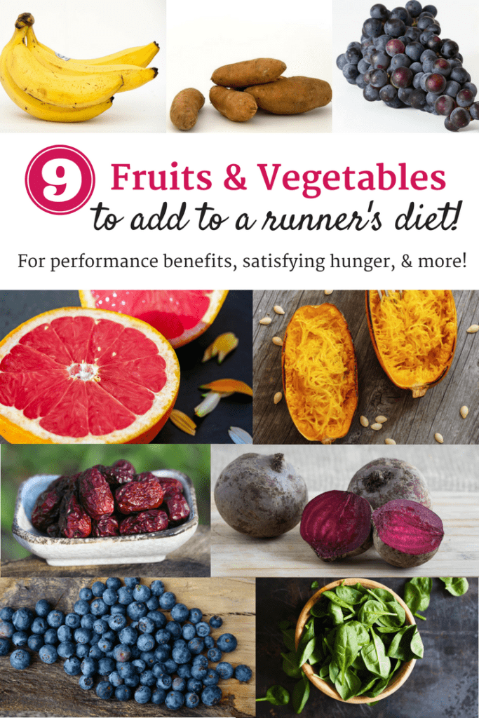 9 Great Fruits and Vegetables to Add to Any Runner's Diet