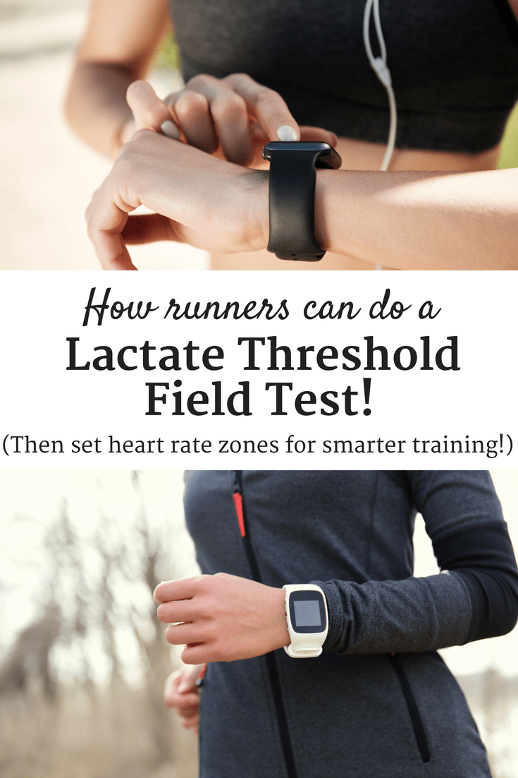 Want to try using heart rate zones for more effective running training? Complete a lactate threshold field test (no equipment required) to set accurate zones for your training plan!