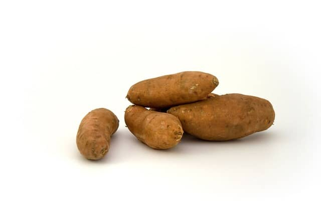 Sweet potatoes for a Runner's Diet